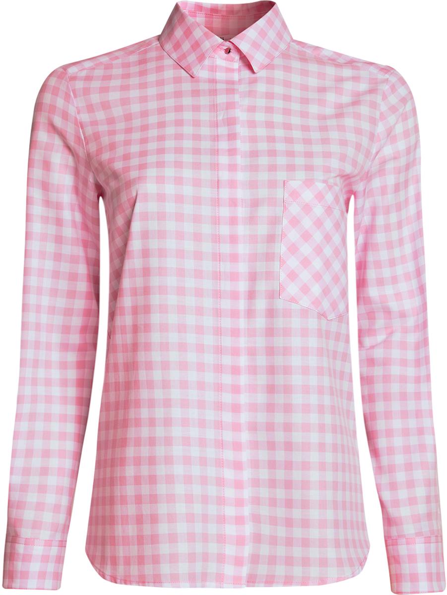 Блузка11411099-1/43566/2912CРубашка свободного силуэта с регулировкой длины рукава