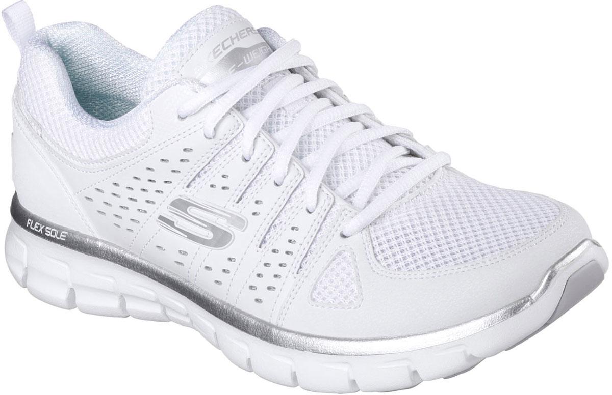 Кроссовки11963-BKLVСтильные легкие женские кроссовки Skechers подходят как для занятий спортом, так и для повседневных прогулок. Верх модели выполнен из дышащего текстиля и натуральной кожи. Классическая шнуровка надежно зафиксирует модель на стопе. Внутренняя отделка исполнена из мягкого текстиля. Гибкая анатомическая подошва имеет рельефный протектор, который обеспечивает надежное сцепление с поверхностью. В таких кроссовках вашим ногам будет комфортно и уютно. Они подчеркнут ваш стиль и индивидуальность!