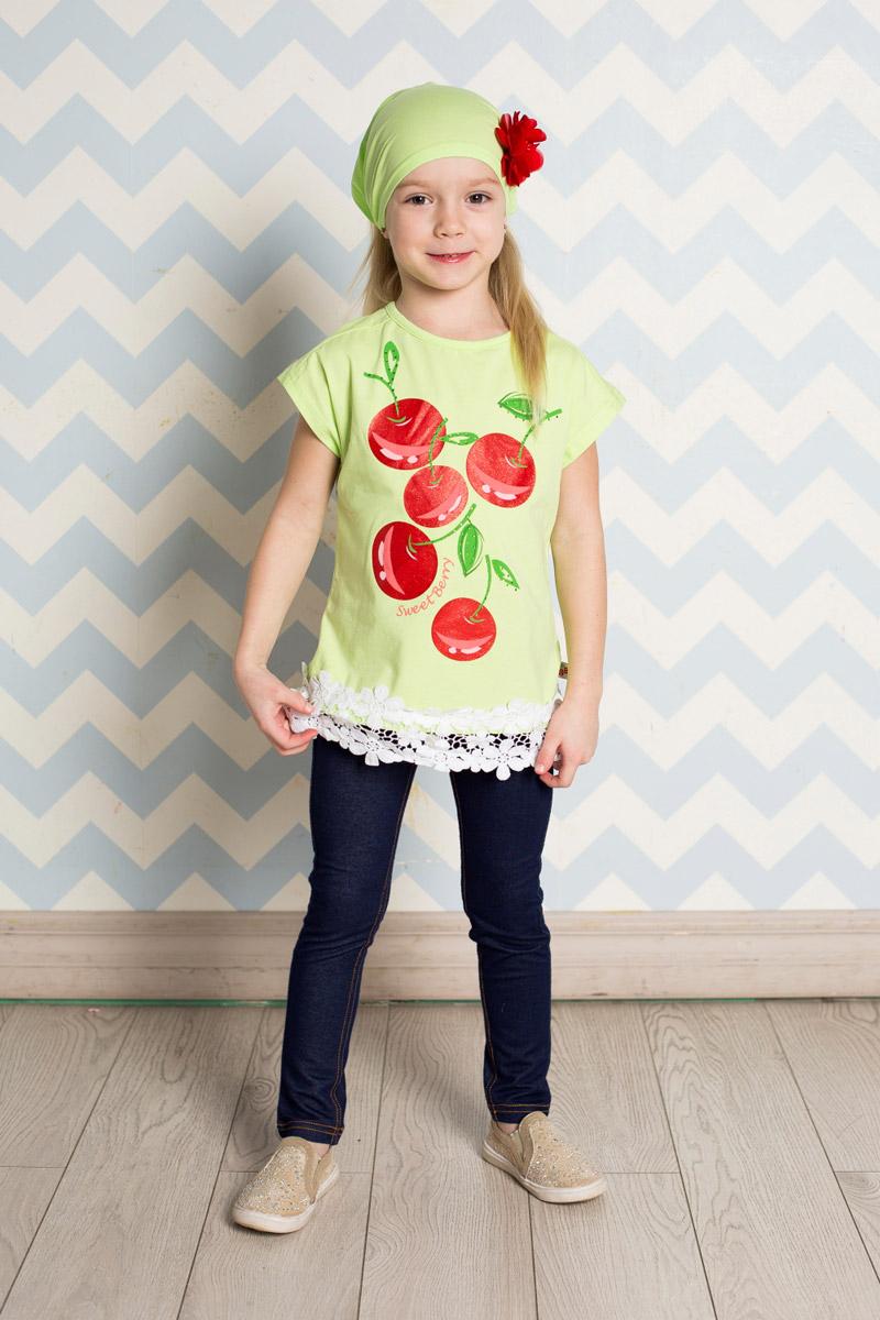 Джинсы714177Стильные джеггинсы для девочки Sweet Berry выполнены из эластичного хлопка с контрастной строчкой. Брюки зауженного кроя и стандартной посадки на талии имеют широкий пояс на мягкой резинке со шлевками для ремня. Модель представляет собой классическую пятикарманку: два втачных и один маленький накладной кармашек спереди и два накладных кармана сзади.
