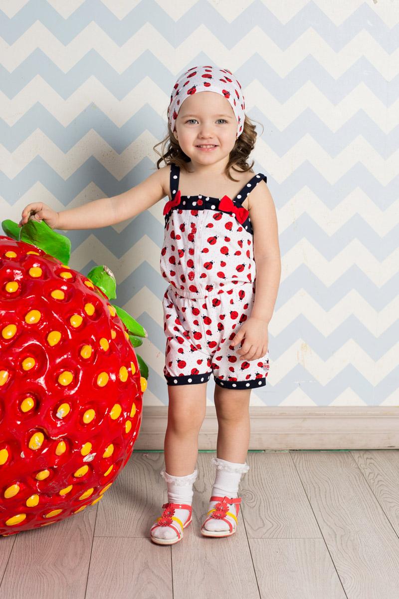 Повязка на голову детская712042Яркая повязка на голову для девочки Sweet Berry, изготовленная из качественного эластичного хлопка, защитит голову вашей малышки от солнца и сильного ветра. Модель оформлена модным принтом и дополнена мягкой эластичной резинкой для фиксации на голове. Уважаемые клиенты! Размер, доступный для заказа, является обхватом головы.