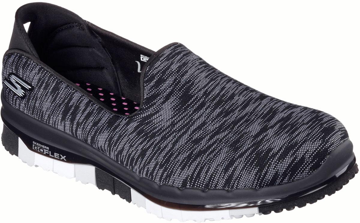 Кроссовки14015-BKWСтильные легкие женские кроссовки Skechers подходят как для занятий спортом, так и для повседневных прогулок. Верх модели выполнен из дышащего текстиля. Внутренняя отделка исполнена из мягкого текстиля. Гибкая анатомическая подошва имеет рельефный протектор, который обеспечивает надежное сцепление с поверхностью. В таких кроссовках вашим ногам будет комфортно и уютно. Они подчеркнут ваш стиль и индивидуальность!