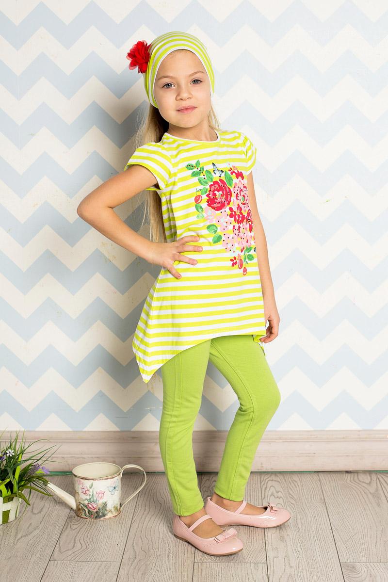 Повязка на голову детская714182Яркая повязка на голову для девочки Sweet Berry, изготовленная из качественного эластичного хлопка, защитит голову вашей малышки от солнца и сильного ветра. Модель оформлена модным принтом и объемным цветком и дополнена мягкой эластичной резинкой для фиксации на голове. Уважаемые клиенты! Размер, доступный для заказа, является обхватом головы.