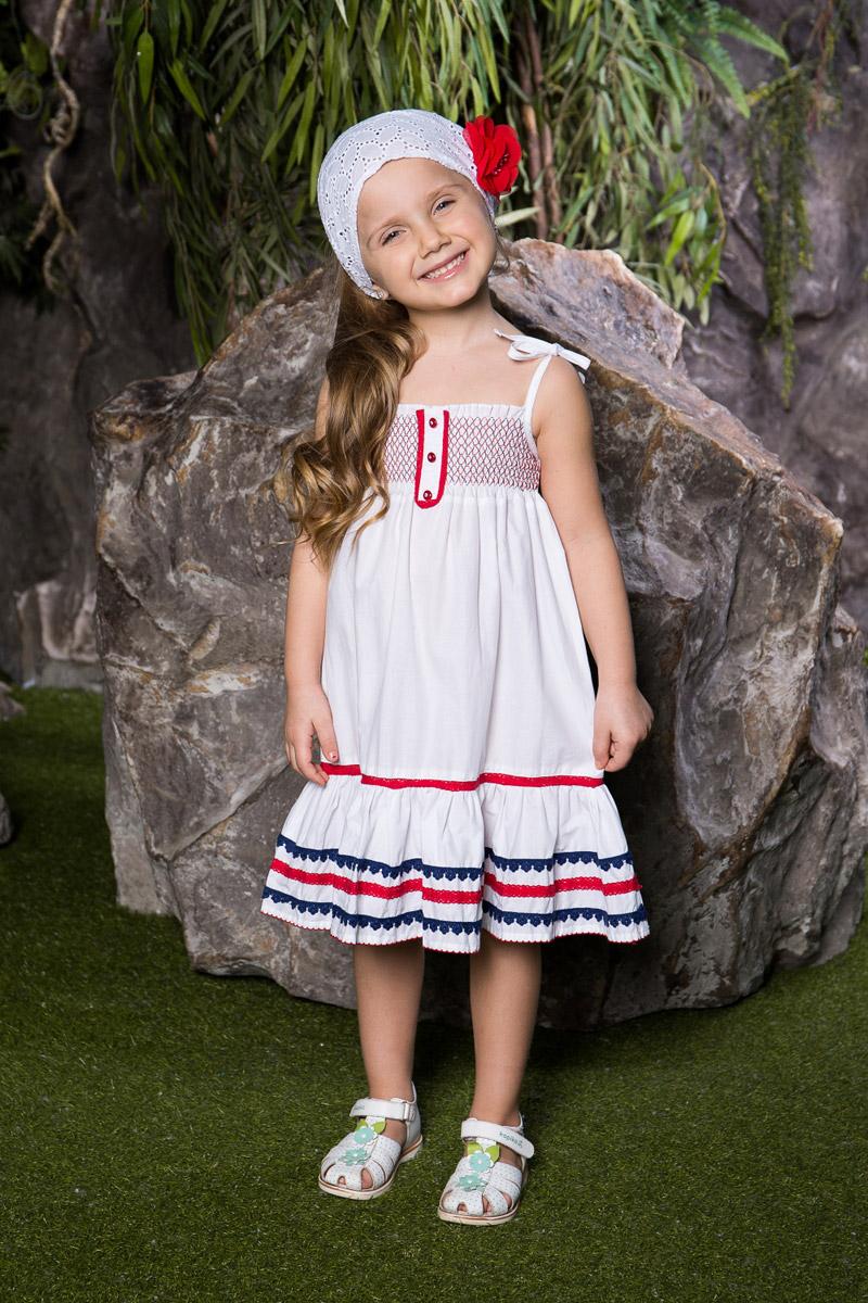 Повязка на голову детская714105Стильная повязка на голову для девочки Sweet Berry, изготовленная из натурального хлопка, защитит голову вашей малышки от солнца и сильного ветра. Модель оформлена объемным цветком и дополнена мягкой эластичной резинкой для фиксации на голове. Уважаемые клиенты! Размер, доступный для заказа, является обхватом головы.