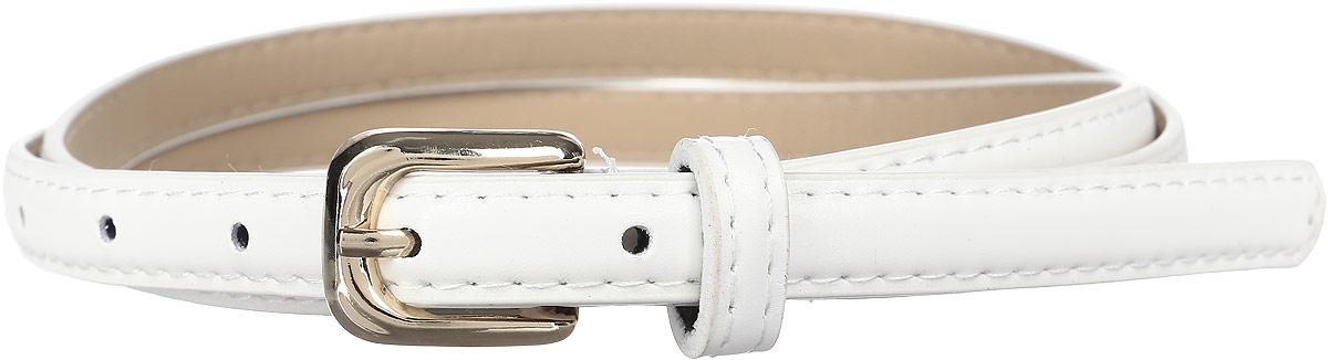 РеменьREM11-WHITEСтильный женский ремень Mitya Veselkov изготовлен из качественной искусственной кожи. Прямоугольная пряжка, выполненная из металла, позволит легко и быстро зафиксировать ремень и отрегулировать его длину. Элегантный и строгий ремень превосходно сочетается с любыми нарядами.