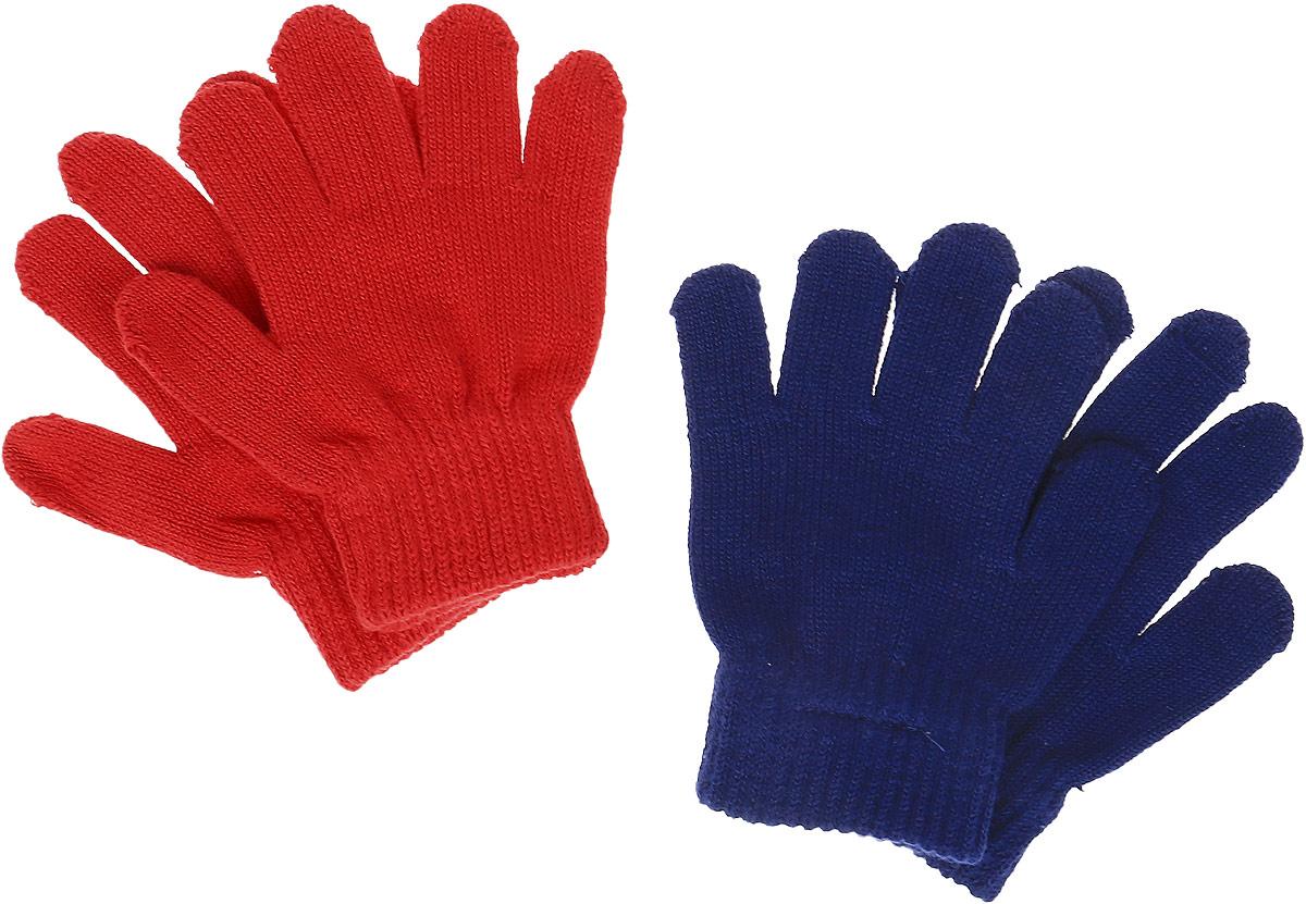 Перчатки детские168039Перчатки детские PlayToday изготовлены из мягкого текстиля на основе хлопка. Верх перчаток дополнен широкой резинкой. В комплекте 2 пары перчаток.