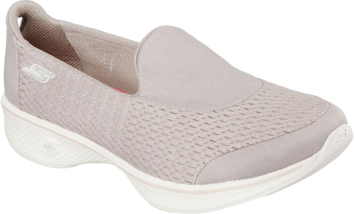 Кроссовки14148-BBKЖенские кроссовки от Skechers предназначены для ходьбы и занятий спортом. Новая инновационная подошва Resalyte Flex, которая используется в этой обуви, обеспечивает максимальную гибкость при ходьбе. В этой модели также применяется стелька GOGA Mat, они обладает хорошим амортизационным качеством и обработана биоцидом для борьбы с микробами, вызывающими специфический запах. В подметке обуви установлены специальные выступы Mini GO impulse sensors, которые гарантируют превосходное сцепление с поверхностью. Бесшовный верх обуви выполнен из очень легкого, тянущегося и хорошо вентилируемого текстиля Supersocks, благодаря которому обувь идеально сидит на ноге.