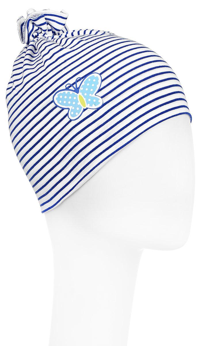 Шапка детская178085Детская шапка PlayToday изготовлена из натурального хлопка с добавлением эластана. Трикотажная модель плотно прилегает к голове, без завязок. В комплекте 2 шапочки с термоаппликациями.