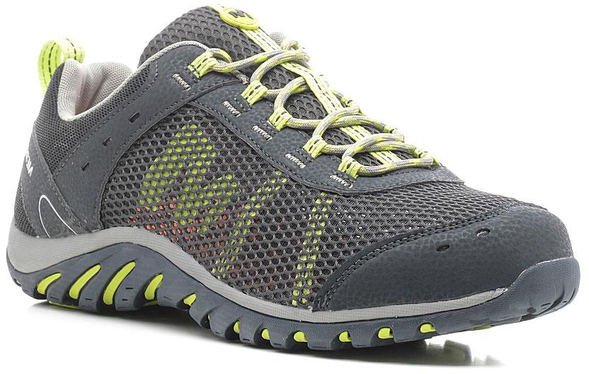 Кроссовки300974CМужские кроссовки выполнены из сетки с элементами из синтетической кожи. Подкладка из воздухопроницаемой сетки с антибактериальной пропиткой Aegis Antimicrobial предотвращает специфический запах и обеспечивает оптимальный микроклимат внутри ботинка. Съемная стелька из материала ЭВА. Промежуточная подошва из ЭВА с использованием технологии Air Cushion стабилизирует стопу и поглощает удары при ходьбе. Нейлоновый супинатор защищает и поддерживает свод стопы. Подошва Merrell гарантирует устойчивость на любой поверхности.