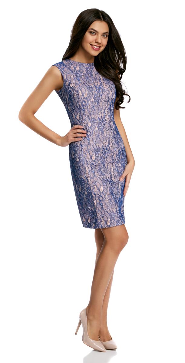 Платье11902167/46403/7554LПлатье кружевное с вырезом на спине