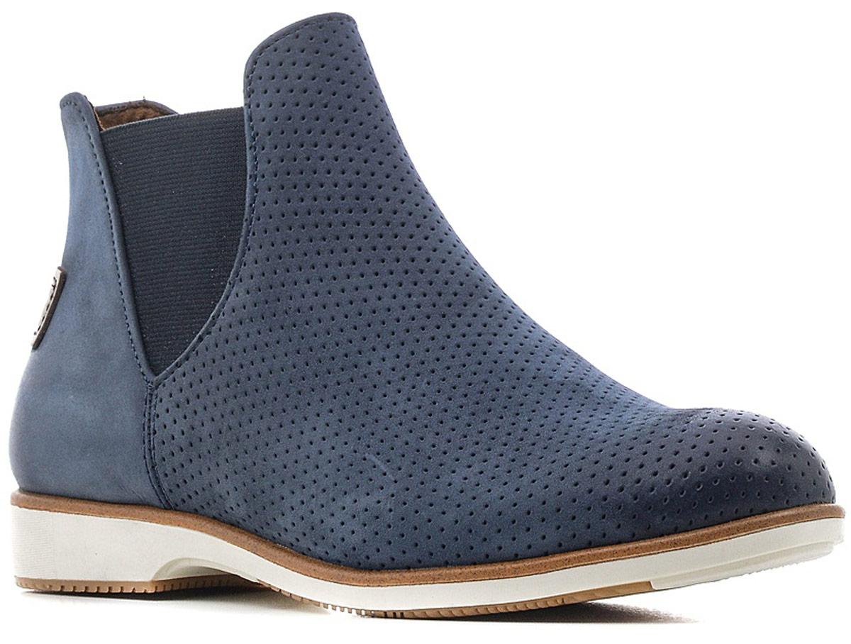 Ботинки1-1-25402-28-001/220Стильные женские ботинки от Tamaris очаруют вас с первого взгляда. Модель выполнена из натуральной кожи и оформлена декоративной перфорацией. Подкладка из текстиля обеспечит комфорт при движении. Стелька выполнена из искусственной кожи. Подошва оснащена рифлением.