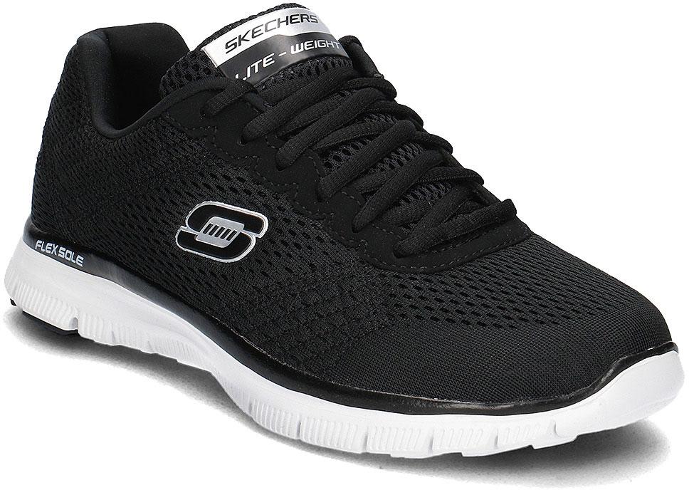 Кроссовки51458-BKWСтильные мужские кроссовки Skechers отлично подойдут для активного отдыха и повседневной носки. Верх модели выполнен из текстиля. Удобная шнуровка надежно фиксирует модель на стопе. Подошва обеспечивает легкость и естественную свободу движений. Мягкие и удобные, кроссовки превосходно подчеркнут ваш спортивный образ и подарят комфорт.