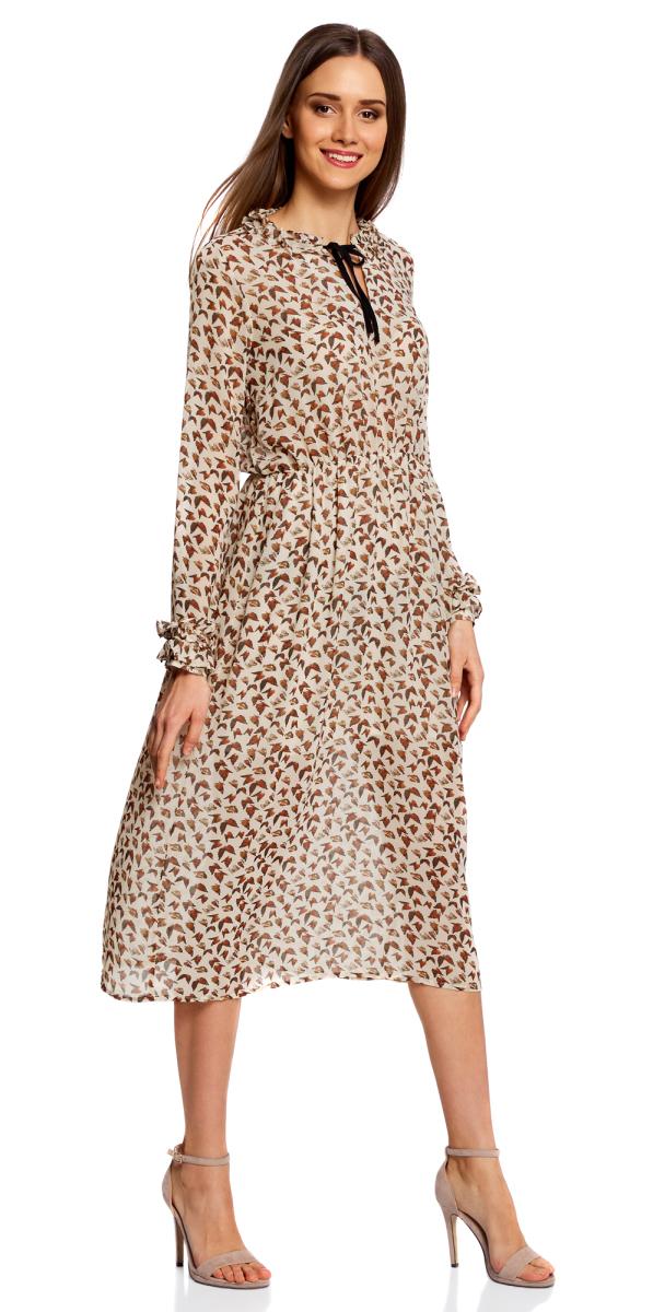 Платье11913036/38375/3331AПлатье миди с завязками