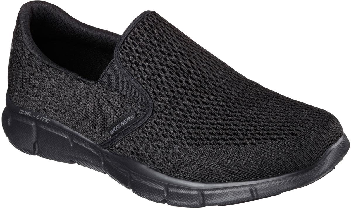 Кроссовки51509-BBKСтильные мужские кроссовки Skechers отлично подойдут для активного отдыха и повседневной носки. Верх модели выполнен из текстиля. Благодаря эластичным вставкам на подъеме кроссовки удобно надевать. Подошва обеспечивает легкость и естественную свободу движений. Мягкие и удобные, кроссовки превосходно подчеркнут ваш спортивный образ и подарят комфорт.