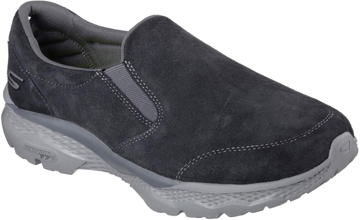 Кроссовки54130-CHARСтильные мужские кроссовки Skechers отлично подойдут для активного отдыха и повседневной носки. Верх модели выполнен из натуральной кожи. Эластичные вставки надежно фиксируют модель на стопе. Подошва обеспечивает легкость и естественную свободу движений. Мягкие и удобные, кроссовки превосходно подчеркнут ваш спортивный образ и подарят комфорт.