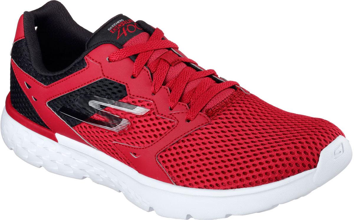Кроссовки54350-RDBKСтильные мужские кроссовки Skechers отлично подойдут для активного отдыха и повседневной носки. Верх модели выполнен из текстиля. Удобная шнуровка надежно фиксирует модель на стопе. Подошва обеспечивает легкость и естественную свободу движений. Мягкие и удобные, кроссовки превосходно подчеркнут ваш спортивный образ и подарят комфорт.