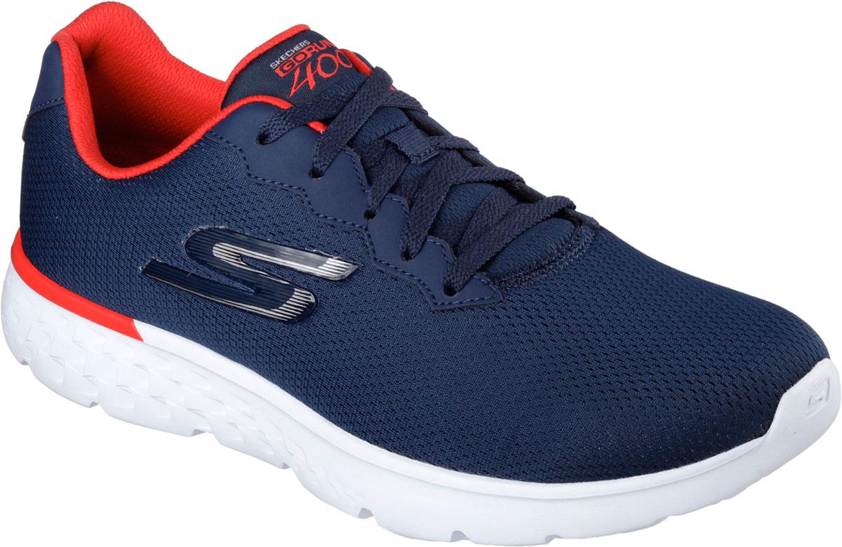 Кроссовки54351-NVRDСтильные мужские кроссовки Skechers отлично подойдут для активного отдыха и повседневной носки. Верх модели выполнен из текстиля. Удобная шнуровка надежно фиксирует модель на стопе. Подошва обеспечивает легкость и естественную свободу движений. Мягкие и удобные, кроссовки превосходно подчеркнут ваш спортивный образ и подарят комфорт.
