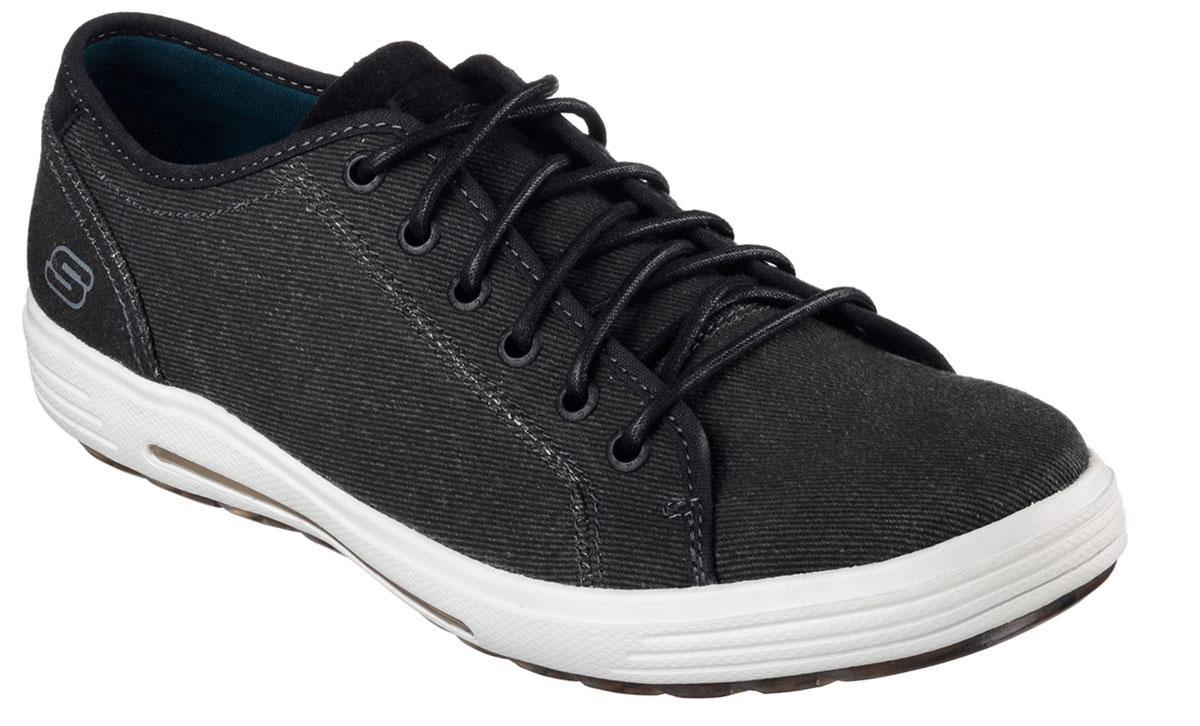 Кеды64935-BLKСтильные мужские кеды Skechers отлично подойдут для повседневных прогулок. Верх модели выполнен из плотного текстиля. Классическая шнуровка надежно зафиксирует модель на стопе. Внутренняя отделка исполнена из мягкого текстиля. Резиновая подошва обеспечит комфорт при ходьбе. В таких кедах вашим ногам будет комфортно и уютно. Они подчеркнут ваш стиль и индивидуальность!