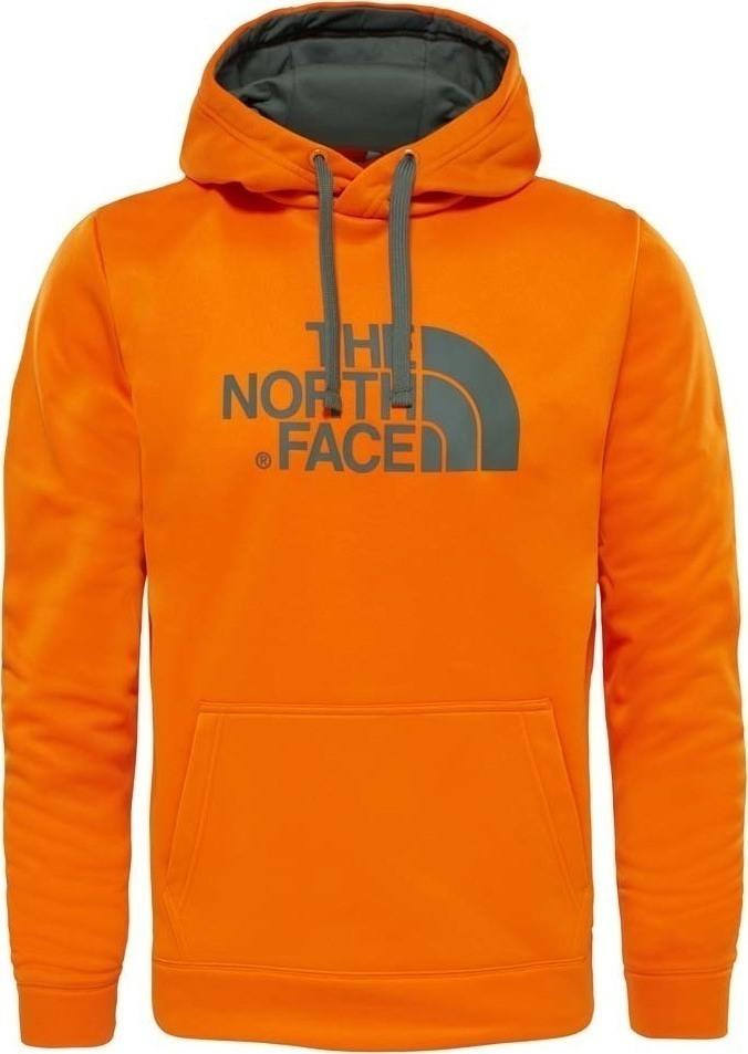 ХудиT92XL8NXKМужское худи The North Face с длинными рукавами и капюшоном изготовлено из полиэстера. Объем капюшона регулируется при помощи шнурка-кулиски. Спереди расположен карман-кенгуру.