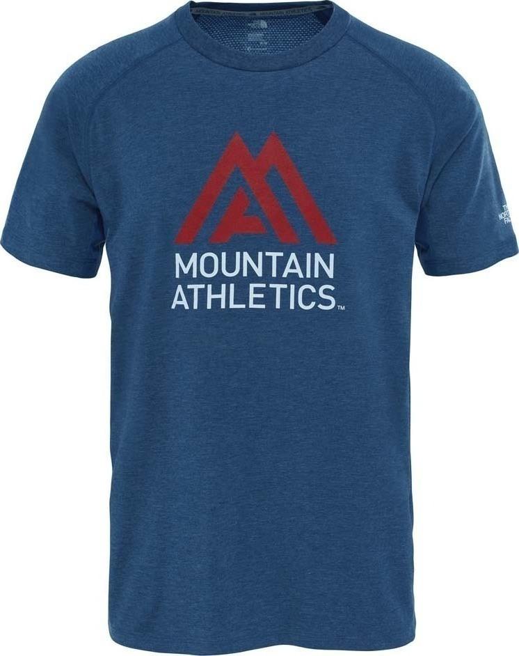ФутболкаT92XL9HKWМужская футболка The North Face изготовлена из качественного смесового материала. Модель выполнена с круглой горловиной и короткими рукавами.