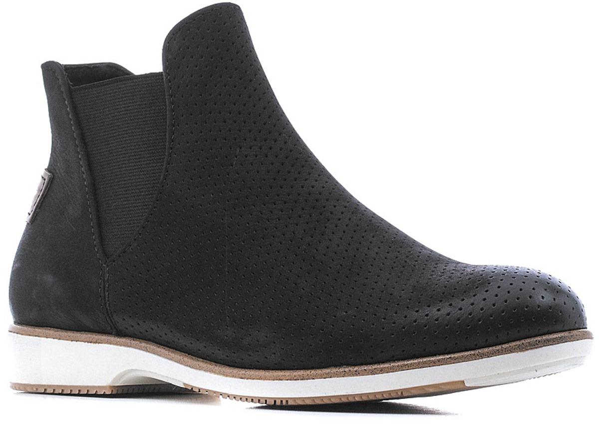 Ботинки1-1-25402-28-001/225Стильные женские ботинки от Tamaris очаруют вас с первого взгляда. Модель выполнена из натуральной кожи и оформлена декоративной перфорацией. Подкладка из текстиля обеспечит комфорт при движении. Стелька выполнена из искусственной кожи. Подошва оснащена рифлением.