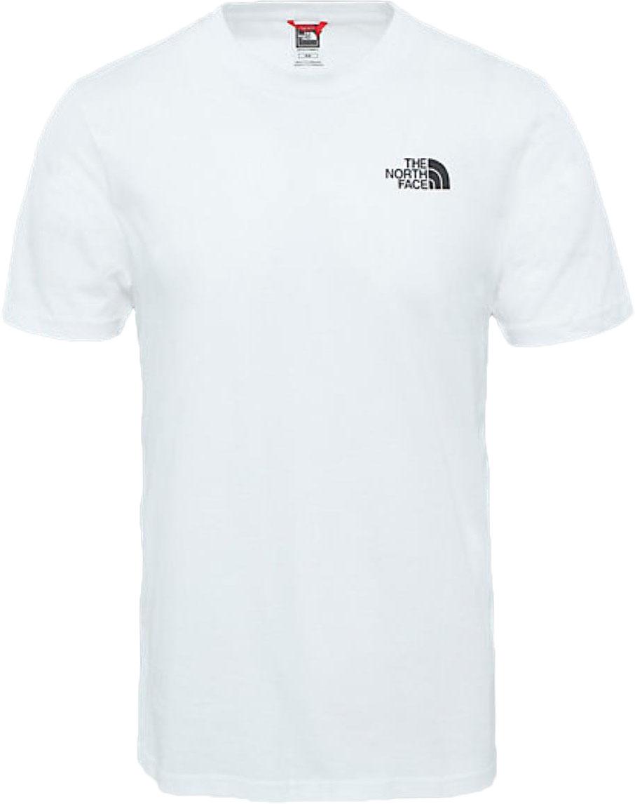 ФутболкаT92TX5FN4Мужская футболка The North Face изготовлена из качественного натурального хлопка. Модель выполнена с круглой горловиной и короткими рукавами.
