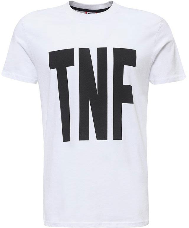 ФутболкаT92S5AFN4Мужская футболка The North Face изготовлена из качественного натурального хлопка. Модель выполнена с круглой горловиной и короткими рукавами.