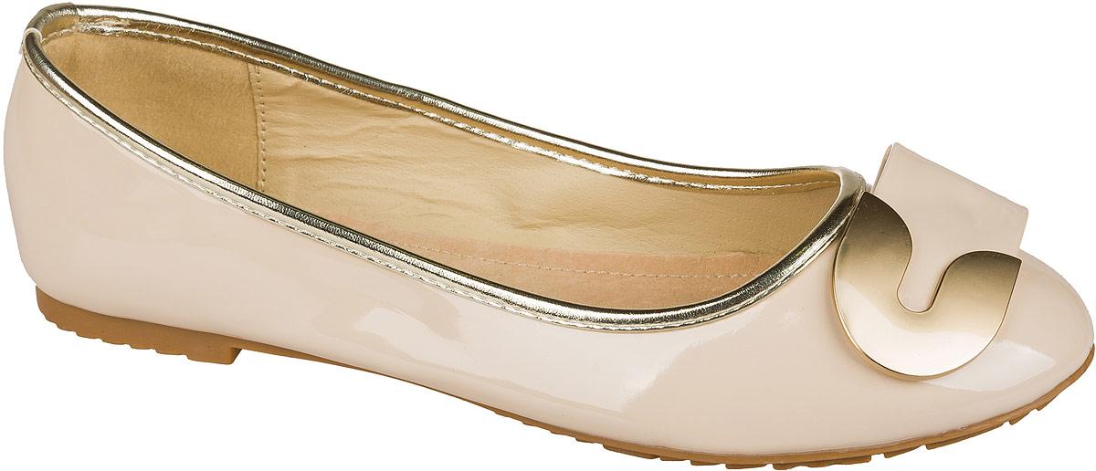 Туфли101532Стильные и удобные туфли для девочки Mursu выполнены из качественной искусственной кожи. Стелька из натуральной кожи придаст максимальный комфорт при движении. Туфли оформлены оригинальным декоративным элементом.