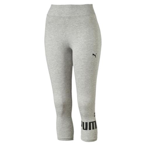 Леггинсы83842004Укороченные брюки декорированы прорезиненным логотипом PUMA, а также вышитой фирменной символикой PUMA. Они посажены на пояс из основного материала изделия и имеют фасон с обтяжку по фигуре.