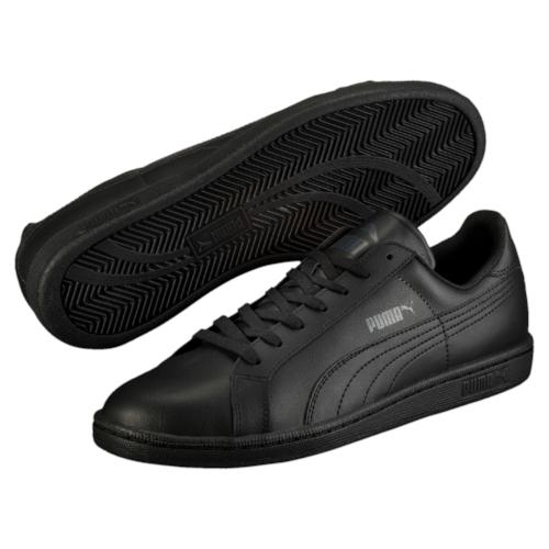Кеды35672204Модель Smash L от PUMA сохраняет простоту и чистоту линий, свойственную классическим теннисным туфлям. Верх из мягкой кожи с традиционной фирменной полосой придает модели нарядный и стильный облик и делает её отличным дополнением к повседневному гардеробу.