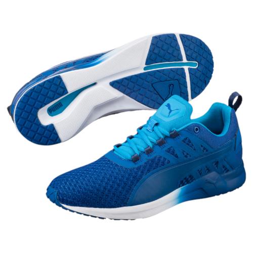 18947401Самая динамичная модель тренировочной обуви, разработанная PUMA специально для мужчин - это, несомненно, кроссовки Pulse XT v2 с их лаконичным и мужественным стилем. В этих кроссовках так и хочется бежать быстрее, повышать нагрузки, открывая новые возможности своего организма. Эта сверхэластичная и сверхлегкая модель предназначена для функциональных и силовых тренировок высокой степени интенсивности. Благодаря пене IGNITE энергия толчка не только расходуется, но и возвращается, а эластичная подошва с глубокой бороздой по центру по всей длине позволяет легко и безопасно совершать резкие повороты и смелые маневры. Еще одной мужской чертой в дизайне модели стал чуть завышенный силуэт, мягко поддерживающий голень.