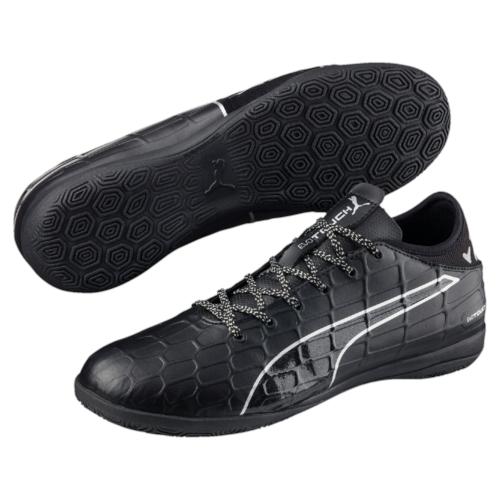 Кроссовки10375203Модель бутс evoTOUCH 3 сочетает комфорт и долговечность в носке благодаря использованию в качестве материала верха мягкой, но в то же время необыкновенно прочной и износостойкой искусственной кожи. Покупателям бутс evoTOUCH 3 PUMA предлагает специализированную обувь современного классического дизайна по доступной цене.