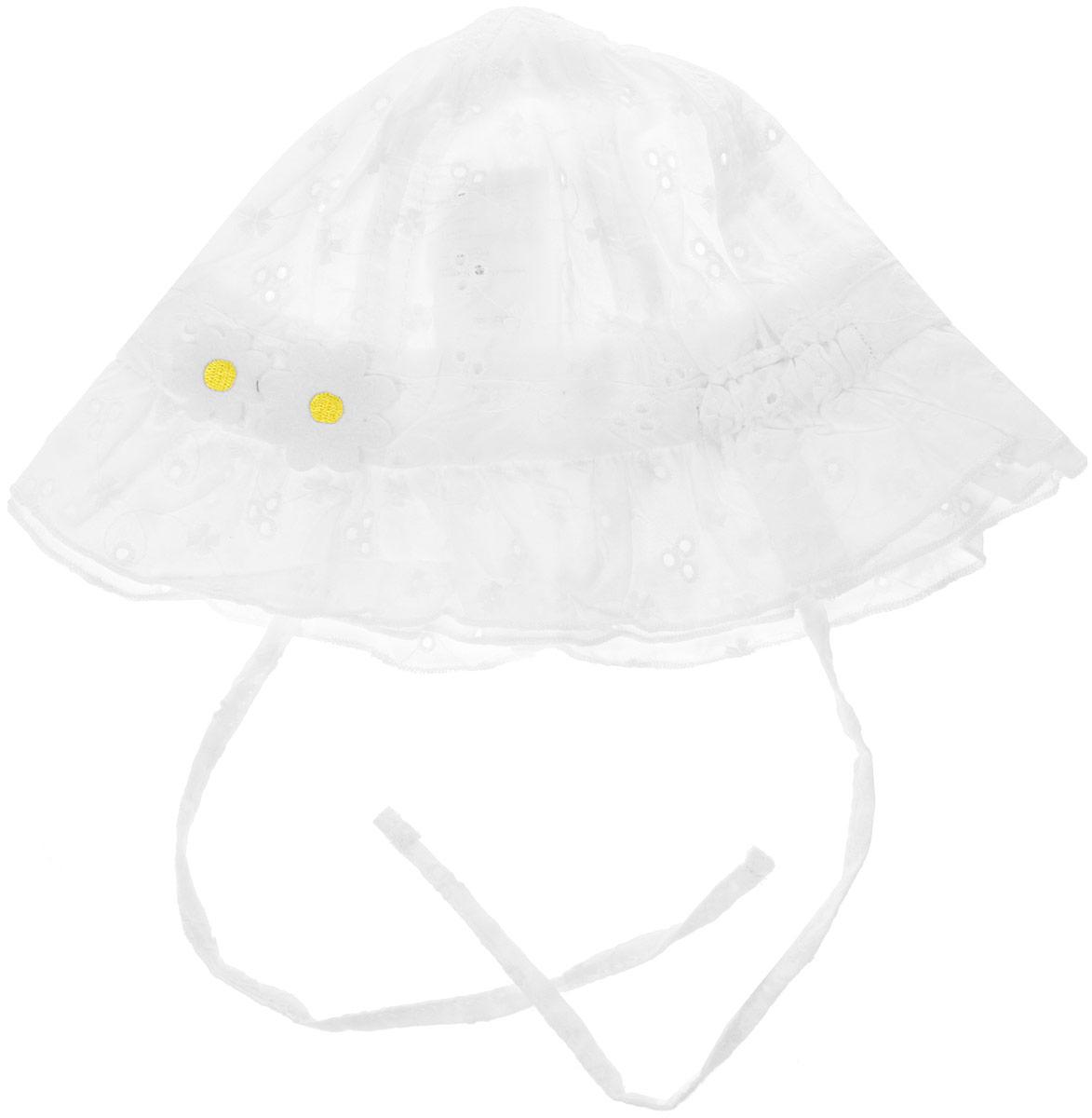 Панама178089Панама из натурального хлопка является неотъемлемой частью летнего детского гардероба. Очень мягкая и легкая, не раздражает нежную кожу ребенка. Модель с широкими полями и на завязках.Преимущества:Натуральный материал не раздражает нежную кожу ребенкаКомфортна при носке