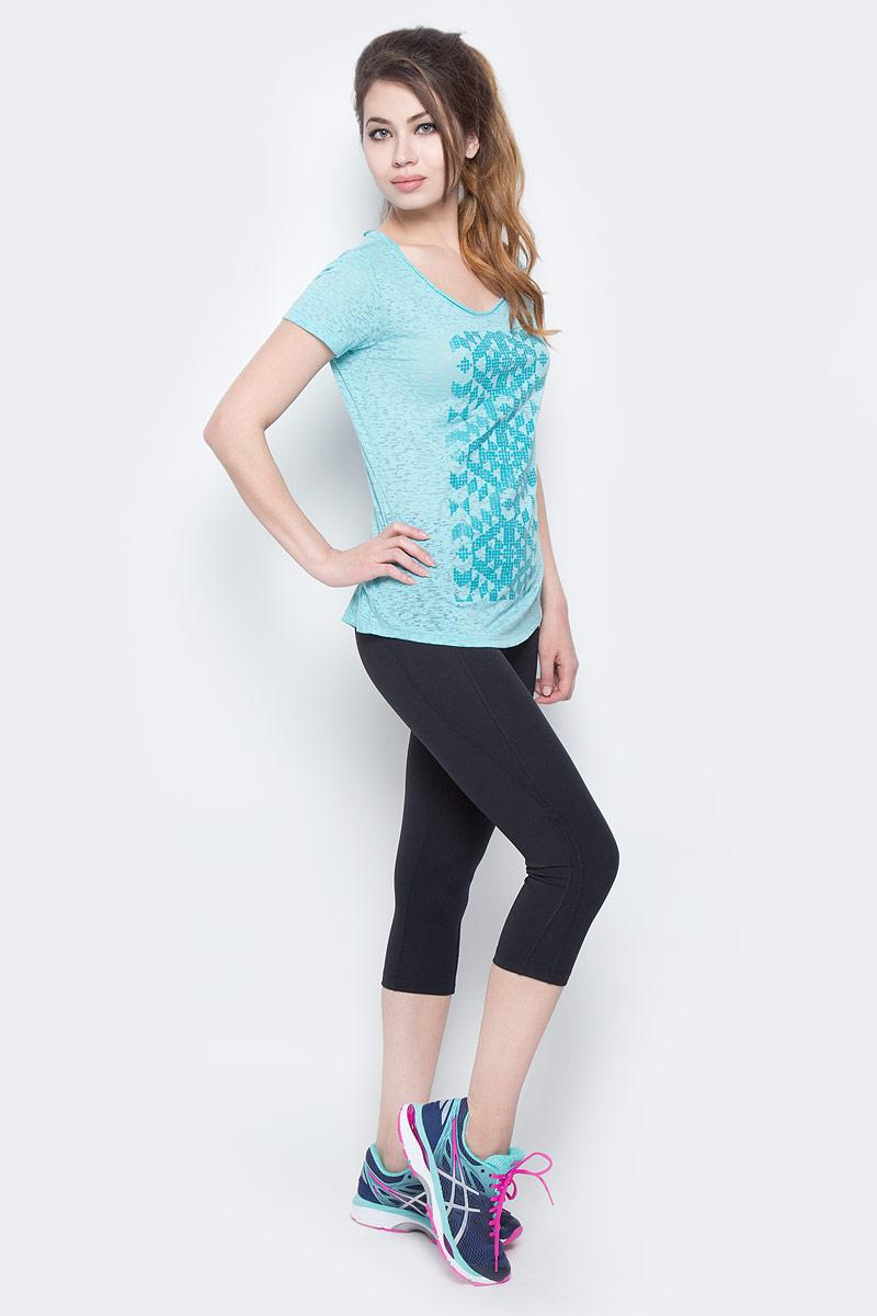 Футболка1663131-101Стильная женская футболка Columbia изготовлена из высококачественных материалов с оригинальной текстурой. Она очень мягкая, тактильно приятная, не сковывает движения и хорошо пропускает воздух. Футболка с круглым вырезом горловины и короткими рукавами оформлена спереди оригинальным принтом, на спине - декоративная отстрочка.