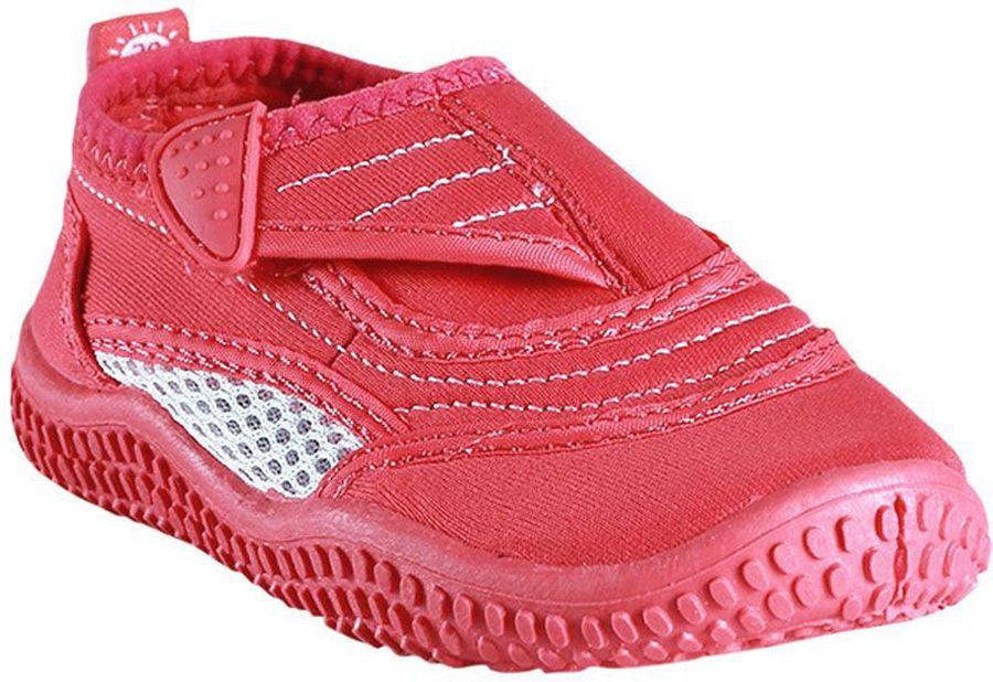 Аквашуз5693092320Идеальная обувь для долгих игр на пляже, плавания и летних развлечений, ведь в ней удобно и в воде, и на берегу. Ее очень легко надевать благодаря застежке на липучке. Материал верха защищает от ультрафиолета, а дышащая сетка обеспечит ногам комфорт в летнюю жару. Фактор защиты от ультрафиолета 50+. Подошва из термопластичной резины защищает пятки от горячего песка и не будет скользить на гальке и на мокрой палубе.