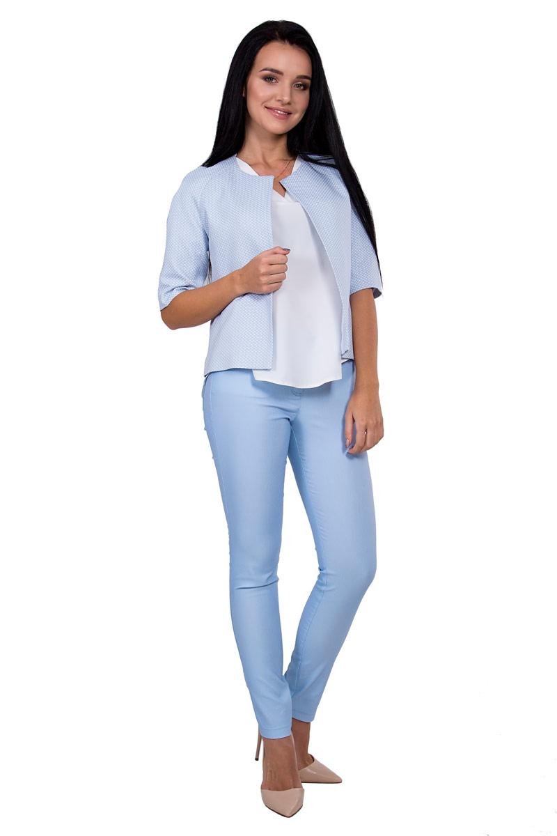 БрюкиП16-082Джинсовые брюки с завышеной талией подчеркнут длину и стройность Ваших ног.