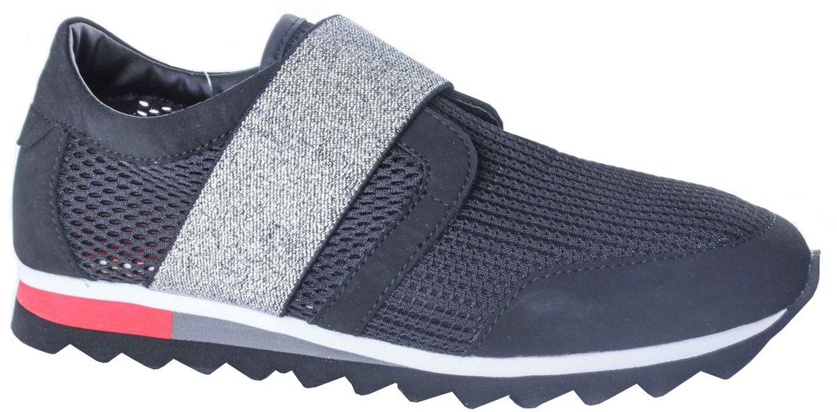 Кроссовки208-299T-17s-8/01-1Удобные женские кроссовки от Patrol прекрасно подойдут для активного отдыха и на каждый день. Верх модели выполнен из сетчатого текстиля. Мыс и пятка усилены накладками из искусственной кожи. Широкий эластичный ремешок на подъеме гарантирует оптимальную посадку обуви на ноге. Внутренняя поверхность и стелька выполнены из текстиля. Мягкая подошва из пенопропилена с рельефным рисунком обеспечивает отличное сцепление с любыми поверхностями. Такие кроссовки займут достойное место среди коллекции вашей обуви.