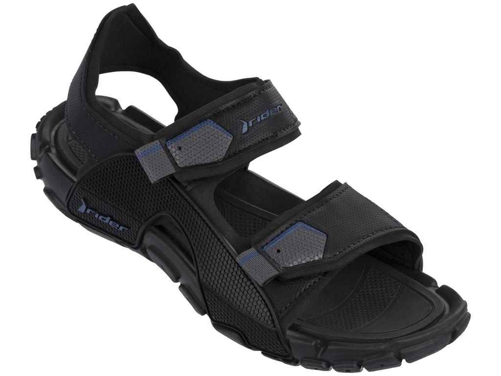 Сандалии81910-20855Стильные мужские сандалии Tender Ix Ad от Rider выполнены из комбинации ЭВА материала и поливинилхлорида. Внутренняя поверхность и стелька, изготовленные из ЭВА материала, гарантируют уют и предотвращают натирание. Рифление на стельке предотвращает выскальзывание ноги. Ремешки с застежками-липучками надежно зафиксируют обувь на ноге. Подошва дополнена рифлением.