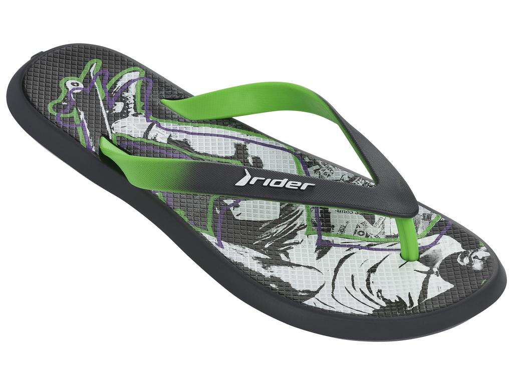 Сланцы82024-24124Стильные мужские сланцы Energy VI AD от Rider придутся вам по душе. Верх модели выполнен из поливинилхлорида. Ремешки с перемычкой гарантируют надежную фиксацию модели на ноге. Рифление на верхней поверхности подошвы предотвращает выскальзывание ноги. Основание подошвы дополнено рифлением.