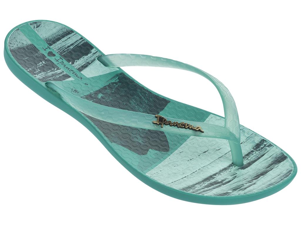 Сланцы82119-20770Стильные женские пантолеты, легкие и комфортные . Стелька модели украшена принтом.