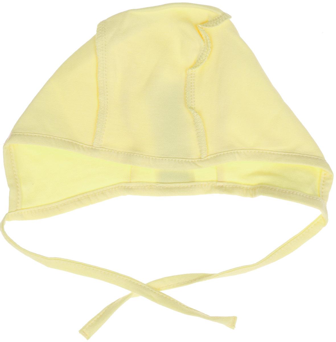 ЧепчикШП202Детский чепчик БЕМБІ изготовлен из натурального хлопка. Швы на изделии выполнены наружу. Края чепчика дополнены мягким текстильным кантом, удобные завязочки хорошо тянутся. Уважаемые клиенты! Размер, доступный для заказа, является обхватом головы.