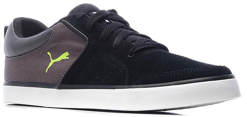 Кроссовки36122104Новинка - модель Funist Slider - имеет верх, полностью выполненный из замши, что обеспечивает её отличную посадку по ноге. Перед вами идеальный вариант обуви для активной жизни и занятия молодежными видами спорта! Символика PUMA широко представлена в модели логотипом PUMA, вышитым снаружи сбоку, и тканым ярлыком с логотипом PUMA на язычке. Резиновая подошва с высоким рантом контрастного цвета не только делает модель нарядной, но и обеспечивает отличное сцепление с поверхностью, в том числе, с асфальтом, что совершенно необходимо в молодежном уличном спорте.