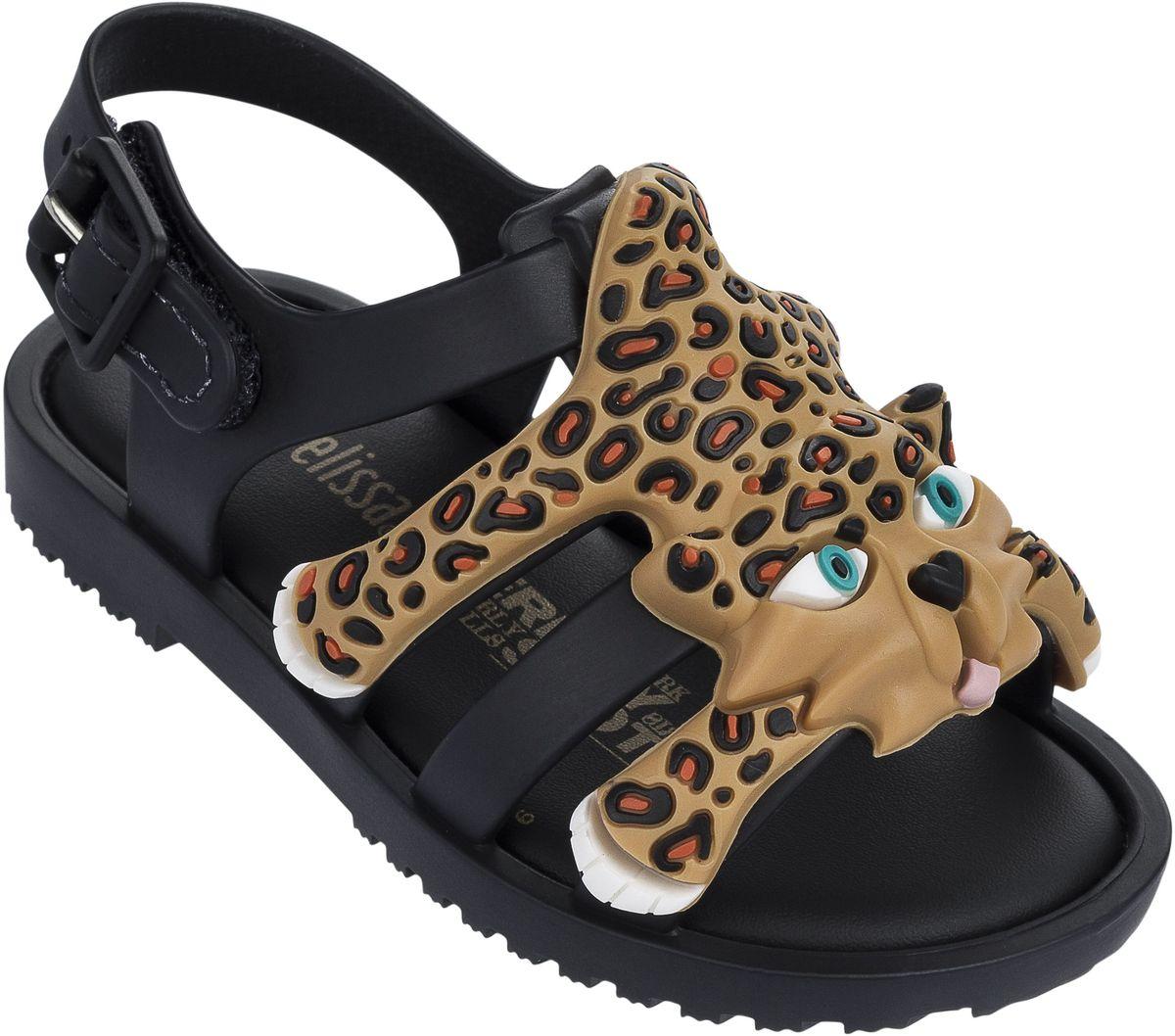 Сандалии31933-51516Стильные босоножки, украшенные чудесным элементом виде леопарда, созданные в коллаборации с Jeremy Scott (Джереми Скотт). Стелька супермягкая, принимающая форму стопы Вашего ребенка. Сбоку застегивается на пряжку. Обувь Melissa сделана из Melflex – инновационного полимера, который приспосабливается к форме стопы, не натирает и дает ноге дышать, а также вкусно пахнет бабл-гам и карамелью. Важно, что Melflex гипоаллергенен и почти полностью перерабатывается, не выделяя вредных веществ в атмосферу.
