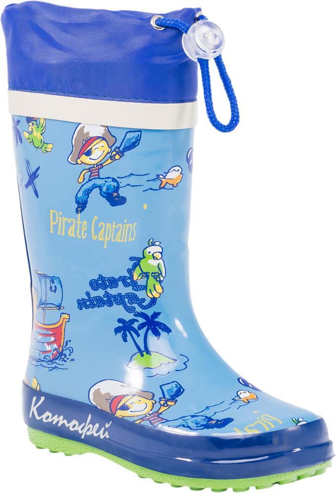Резиновые сапоги366153-11Резиновые сапоги от Котофей - идеальная обувь в холодную дождливую погоду для вашего ребенка. Сапоги выполнены из качественной резины. Голенище оформлено оригинальным принтом. Подкладка и стелька из текстиля обеспечат комфорт. Текстильный верх голенища регулируется в объеме за счет шнурка со стоппером. Подошва дополнена рифлением.