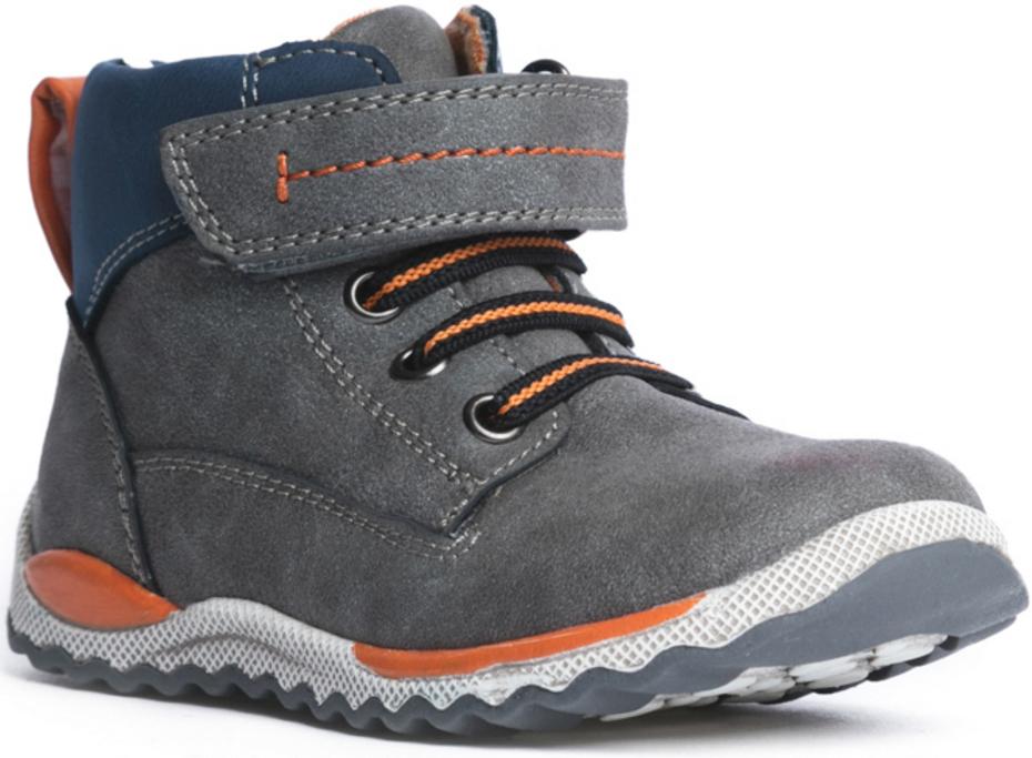 Ботинки177220Комфортные ботинки выполнены из современных материалов. Стелька анатомическая, из мягкой натуральной кожи. Ортопедическая высокая пятка с мягким кантом по верху. Высокая гибкая подошва с рифлением обеспечивает оптимальный комфорт. Наполненная носочная часть этой модели правильно формирует стопу. Широкий через подъемный ремень на липучке, отлично фиксирует модель на ноге.