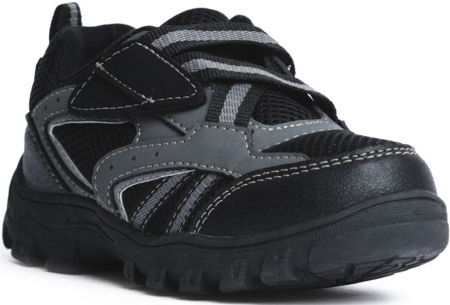 Полуботинки171225Стильные полуботинки для мальчика прекрасно подойдут для ежедневных прогулок. Подошва из гибкого, не скользящего материала. Рифление обеспечивает хорошее сцепление с поверхностью. Удобная пятка укреплена жестким задником. Модель плотно садится на ноге ребенка, что обеспечивает комфорт при носке. Верх: 65% полиэстер; 35% полиуретан.