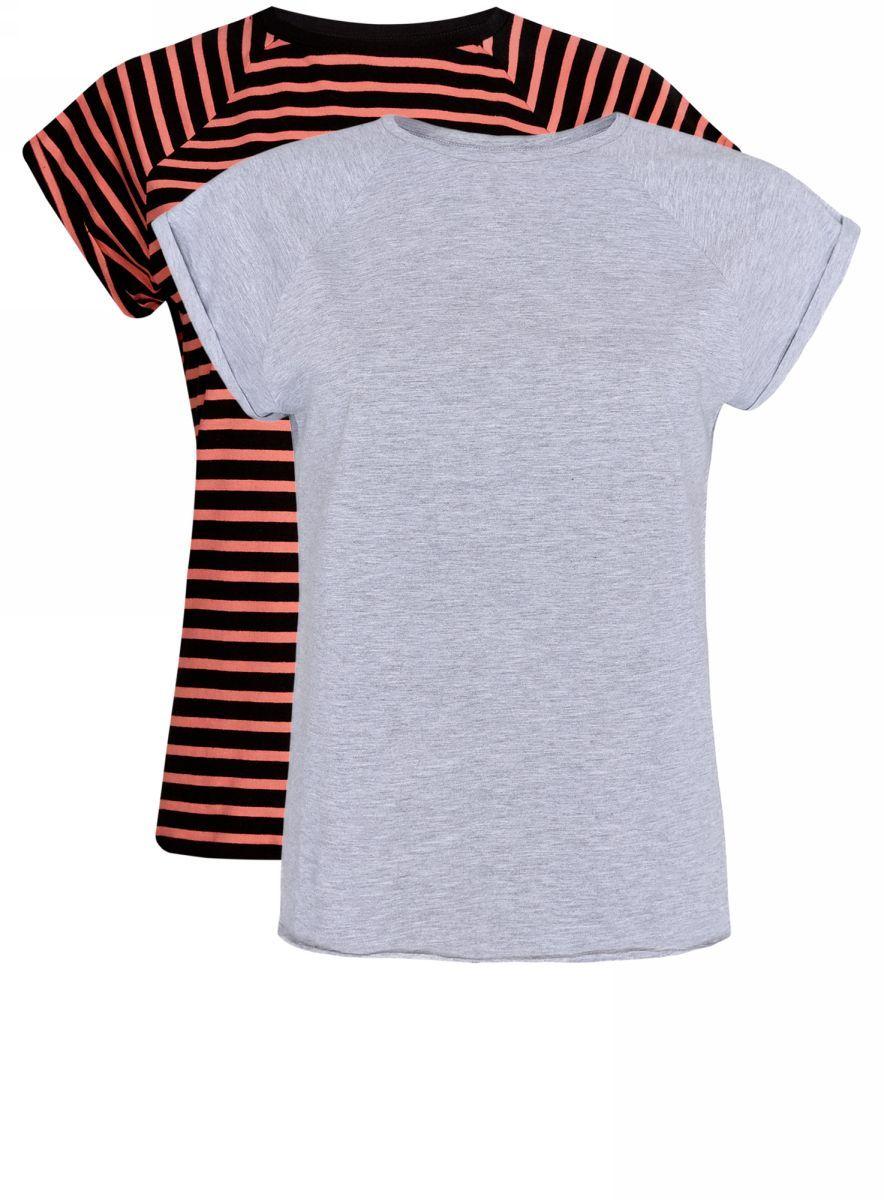 Футболка14707001-4T2/46154/2029NТрикотажная блузка (комплект 2 шт.)