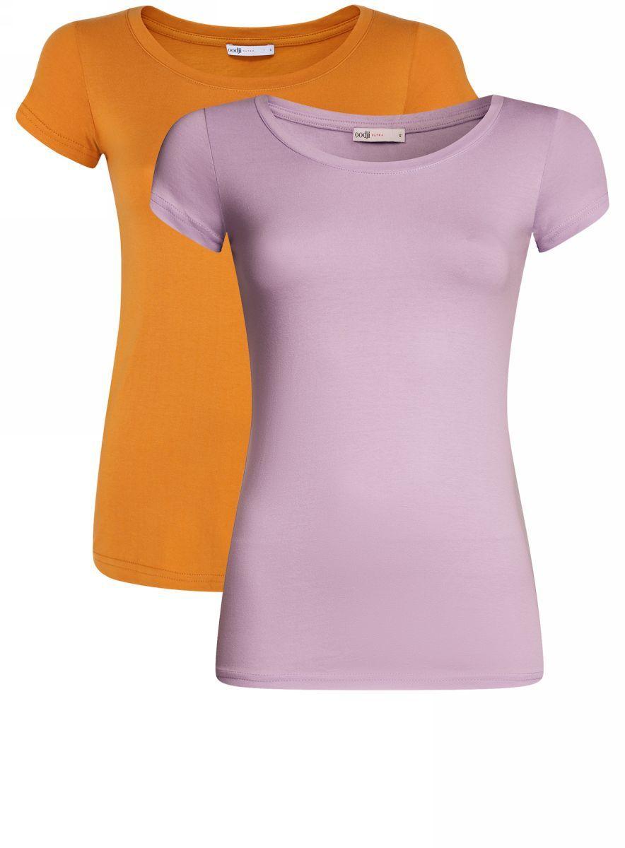 Футболка14701008T2/46154/6D6CNТрикотажная блузка (комплект 2 шт.)