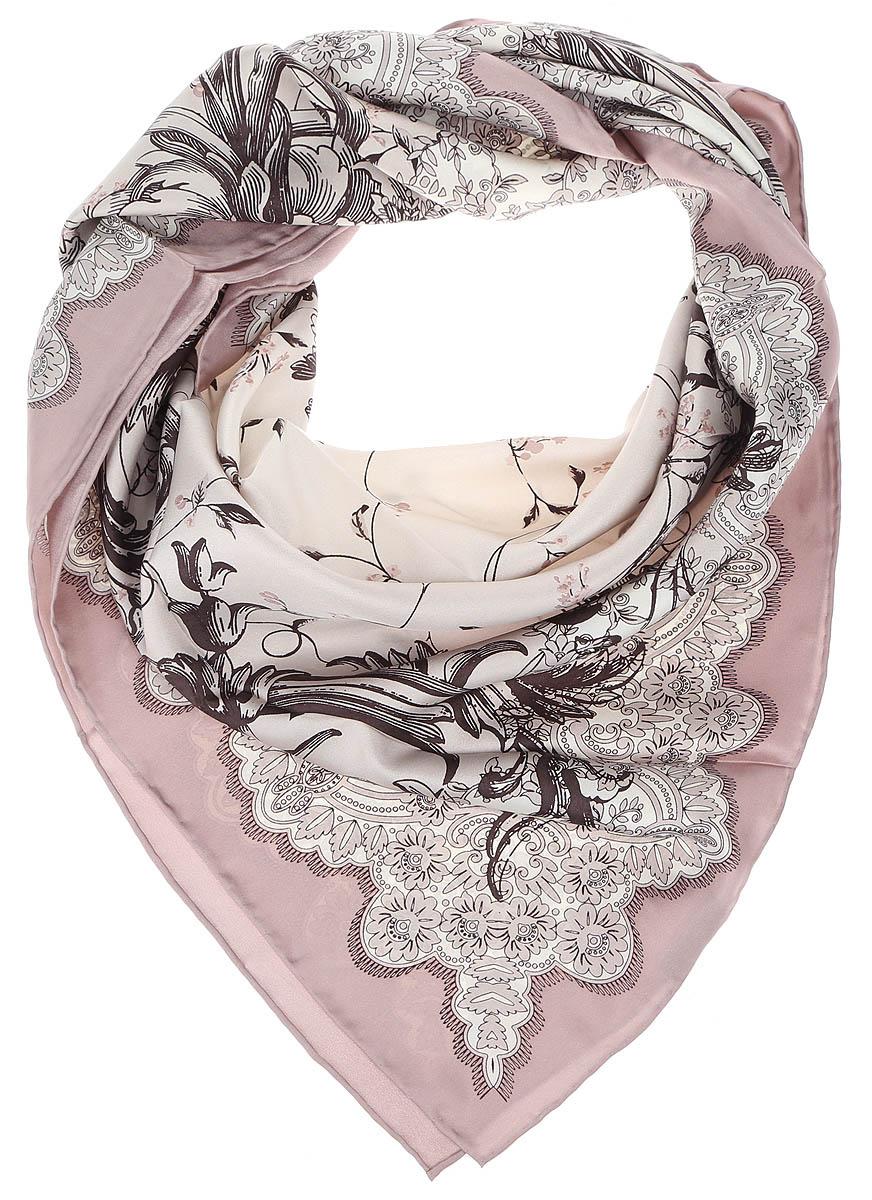 ПлатокCX1617-23-1Изысканный женский платок выполнен из натурального шелка, который придает изделию неповторимый роскошный блеск и гладкость фактуры. Тонкая и прочная нить, создающая струящуюся ткать, подчеркнет изысканный вкус своей обладательницы.