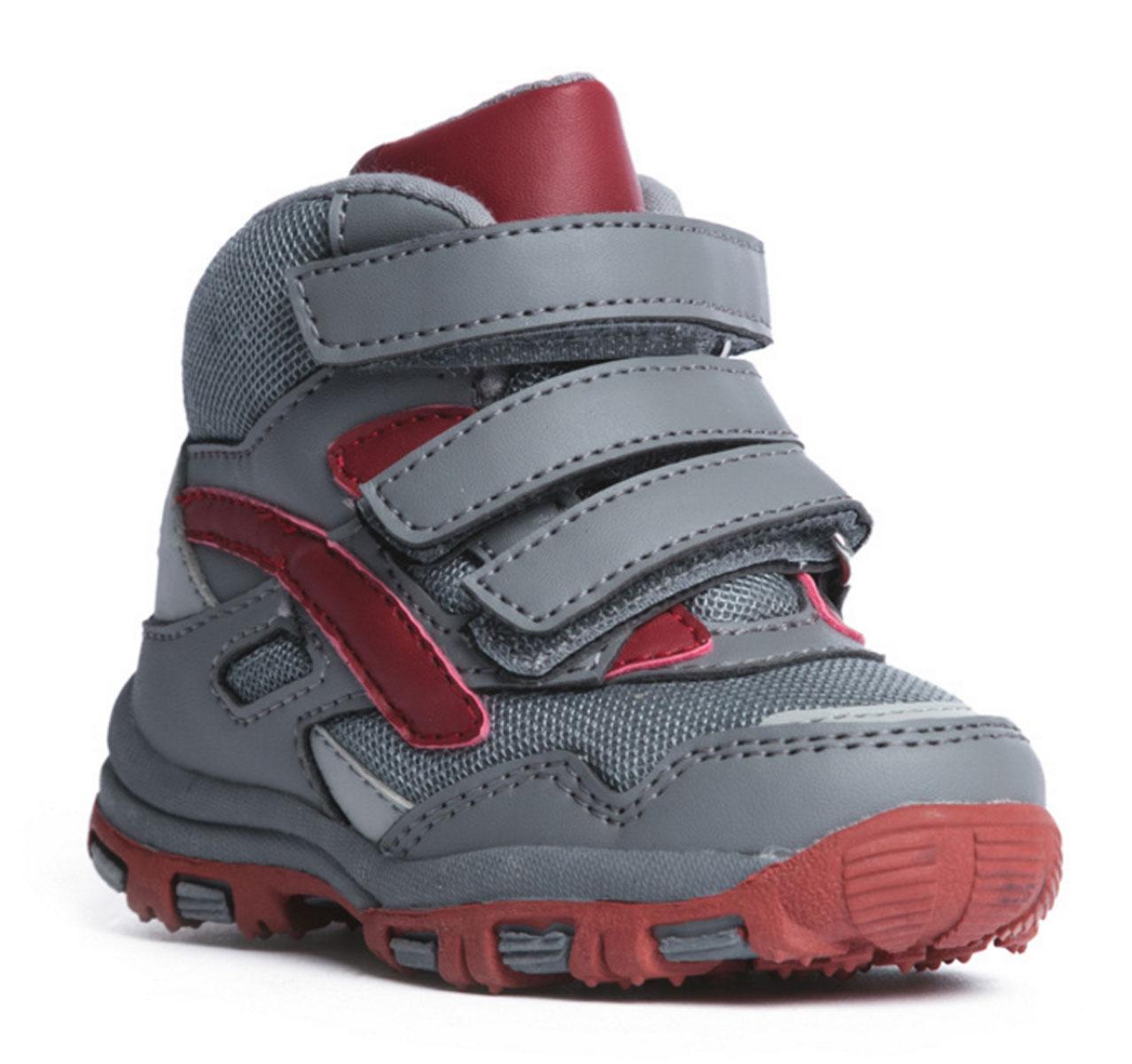 Ботинки177232Комфортные ботинки выполнены из современных материалов. Ортопедическая высокая пятка с мягким кантом по верху. Высокая гибкая подошва с рифлением обеспечивает оптимальный комфорт. Наполненная носочная часть правильно формирует стопу. Застежки на липучках отлично фиксируют модель на ноге.