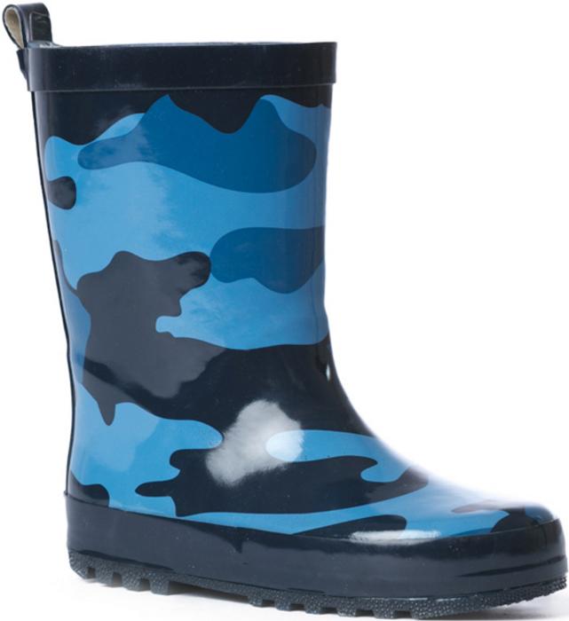 Резиновые сапоги171237Резиновые сапоги прекрасно подойдут для ежедневного использования в дождливую погоду. Модель на утолщенной рифленой подошве с небольшим устойчивым каблуком. Мягкая подкладка из натуральной ткани обеспечит комфорт ногам.